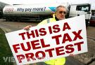 Fuel protest