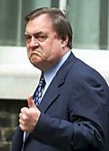 John Prescott thumbs up