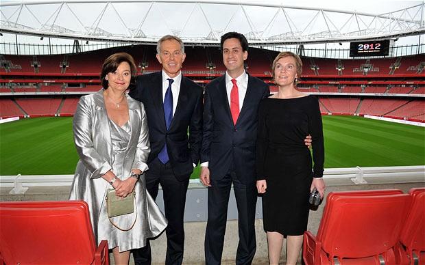 Blair Miliband gritted teeth